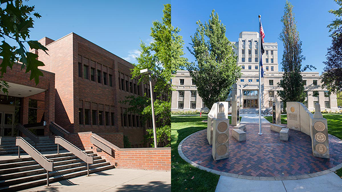 University of Idaho College of Law campus