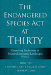 Conserving Biodiversity in Human-Dominated Landscapes, in Endangered Species Act at Thirty, Vol. 2