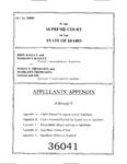 Bagley v. Thomason Appendix Dckt. 36041