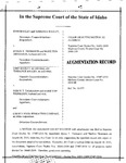 Bagley v. Thomason Augmentation Record Dckt. 37487