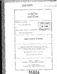 Duncan v. State Bd. of Accountancy Clerk's Record v. 1 Dckt. 35804