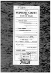 State v. Jensen Clerk's Record v. 1 Dckt. 36018