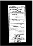State v. Johnson Clerk's Record v. 1 Dckt. 35635