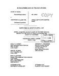 State v. Ellington Supplemental Appellant's Brief Dckt. 33843