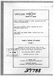 Hoch v. Vance Clerk's Record v. 1 Dckt. 39788