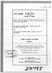 Hoch v. Vance Clerk's Record v. 2 Dckt. 39788