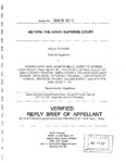 Telford v. Smith County Texas Appellant's Reply Brief Dckt. 39878