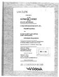 Cumis Ins. Society, Inc v. Massey Clerk's Record v. 1 Dckt. 40002