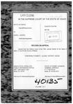 State v. Juarez Clerk's Record Dckt. 40135