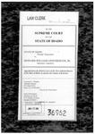 State v. Linenberger Clerk's Record Dckt. 36962