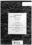 Bradley v. State Clerk's Record Dckt. 37522