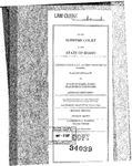 Lochsa Falls v. State Clerk's Record v. 1 Dckt. 34039