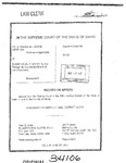 Terrazas v. Blaine County ex rel. Bd. Of Com'rs Clerk's Record v. 1 Dckt. 34106