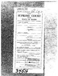 Dunagan v. Dunagan Clerk's Record v. 1 Dckt. 34516
