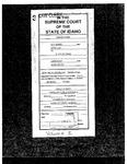 State v. Stone Clerk's Record v. 1 Dckt. 34571