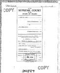 State v. Kofoed Clerk's Record v. 1 Dckt. 34589