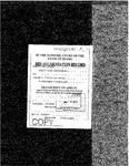 State v. Swindle Clerk's Record v. 1 Dckt. 34658