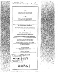 St. Alphonsus Diversified Care, Inc. v. MRI Assocs., LLP Clerk's Record v. 1 Dckt. 34885