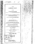 St. Alphonsus Diversified Care, Inc. v. MRI Assocs., LLP Clerk's Record v. 9 Dckt. 34885