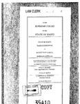 State v. Cobell Clerk's Record v. 1 Dckt. 35410