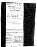 Urban Renewal Agency v. Hart Clerk's Record v. 1 Dckt. 35435