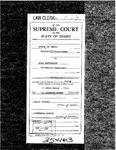 State v. Patterson Clerk's Record v. 1 Dckt. 35463