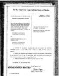 Nelson v. Big Lost River Irrigation Order Dckt. 35543