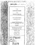 Wheeler v. Idaho Transp. Dept. Clerk's Record v. 1 Dckt. 35839