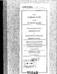 Parker v. Idaho State Tax Comm'n Clerk's Record v. 1 Dckt. 35848