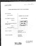 Thompson v. Clear Springs Foods, Inc. Clerk's Record v. 1 Dckt. 36159