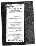State v. Wegner Clerk's Record v. 1 Dckt. 36238