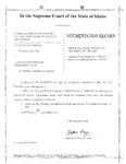 Masterson v. Idaho Dept. of Transp. Augmentation Record Dckt. 37385