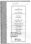 State v. Ward Clerk's Record v. 1 Dckt. 37265