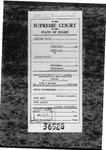 Giltner Dairy, LLC. V. Jerome County Clerk's Record v. 1 Dckt. 36528