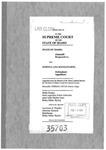 State v. Manzanares Clerk's Record v. 2 Dckt. 35703