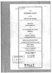 Stem v. Prouty Clerk's Record v. 1 Dckt. 37641