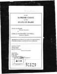 State v. Cottrell Clerk's Record Dckt. 38129