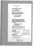Chavez v. Clayton County Clerk's Record Dckt. 38378