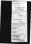 State v. Marsh Clerk's Record v. 2 Dckt. 37185