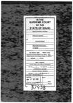 Hoffman v. State Clerk's Record 1 Dckt. 37938