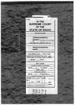 Clayson v. Zebe Clerk's Record v. 1 Dckt. 38471