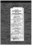 Clayson v. Zebe Clerk's Record v. 2 Dckt. 38471