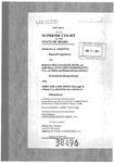 Arregui v. Gallegos-Main Clerk's Record v. 1 Dckt. 38496