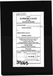 Schultz v. State Clerk's Record Dckt. 39065