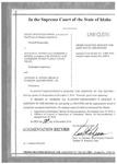 Rocky Mountain Power v. Jensen Augmentation Record Dckt. 37998