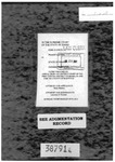 Gosch v. State Clerk's Record Dckt. 38791