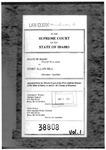 State v. Hill Clerk's Record v. 1 Dckt. 38808