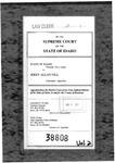 State v. Hill Clerk's Record v. 2 Dckt. 38808