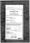 State v. Hill Clerk's Record v. 3 Dckt. 38808