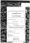 Kootenai County v. Harriman-Sayler Clerk's Record v. 2 Dckt. 39071